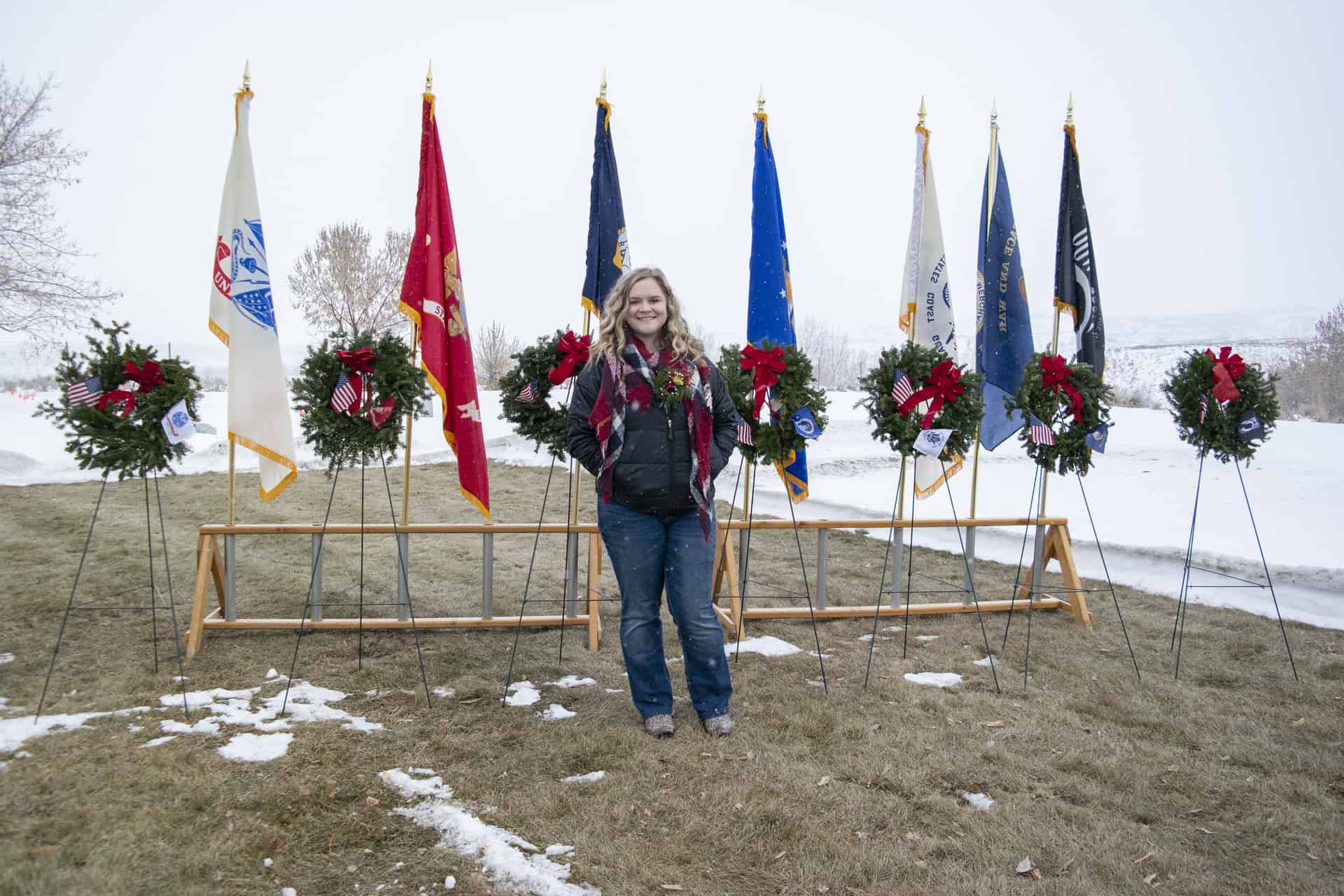 LVHS student organizes 2nd annual Wreaths Across America Ceremony