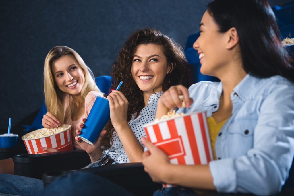 Exciting plans for the weekend? Be sure to save time for a new movie!