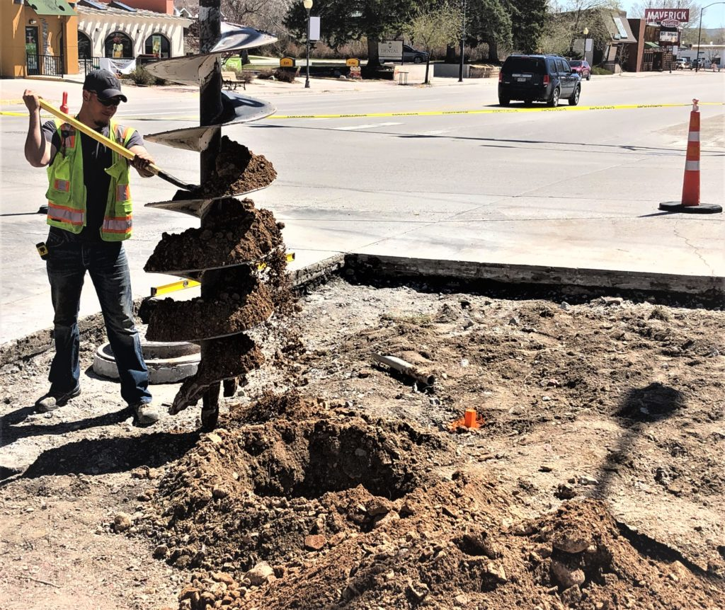 #HeadsUp: Lander Main Street concrete repair project moves to 9th Street intersection