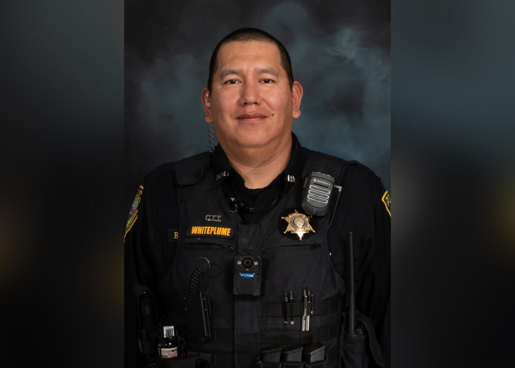 Riverton police officer Billy Whiteplume named as new detective