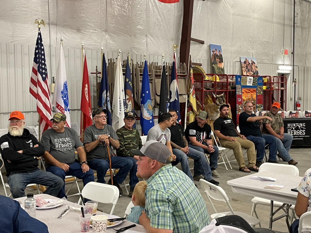 Veterans from across the U.S. traveled to Riverton for Hunting With Heroes