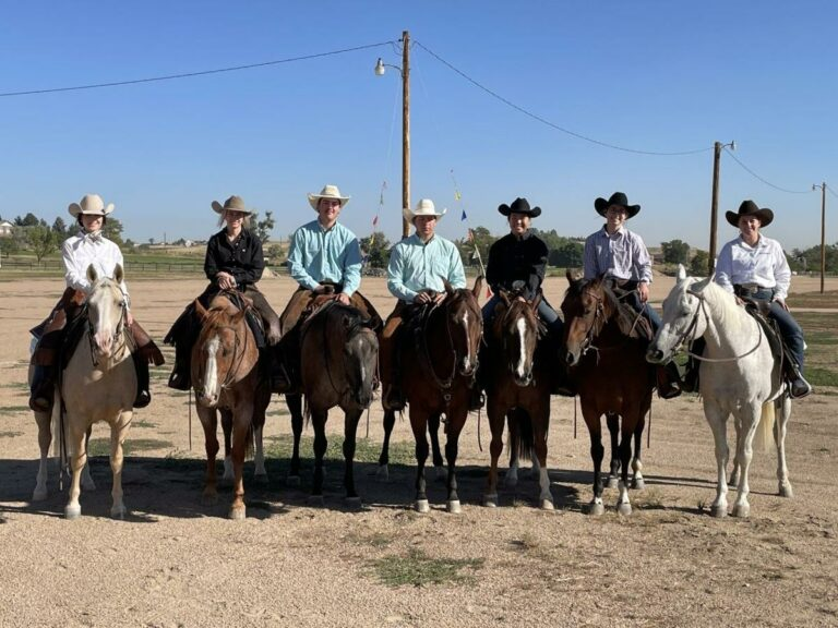 Lander local makes top three in two divisions at Colorado ranch horse contest