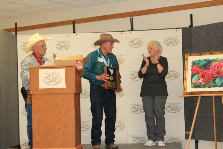 Dubois artist receives the SKB Rose Award