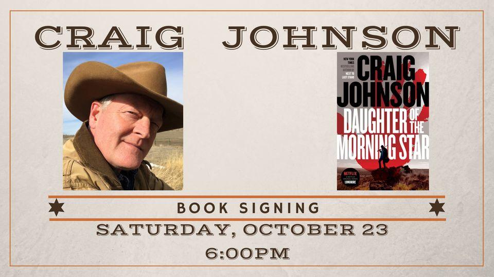 #WhatsHappening: Longmire series author signing books in Lander Saturday