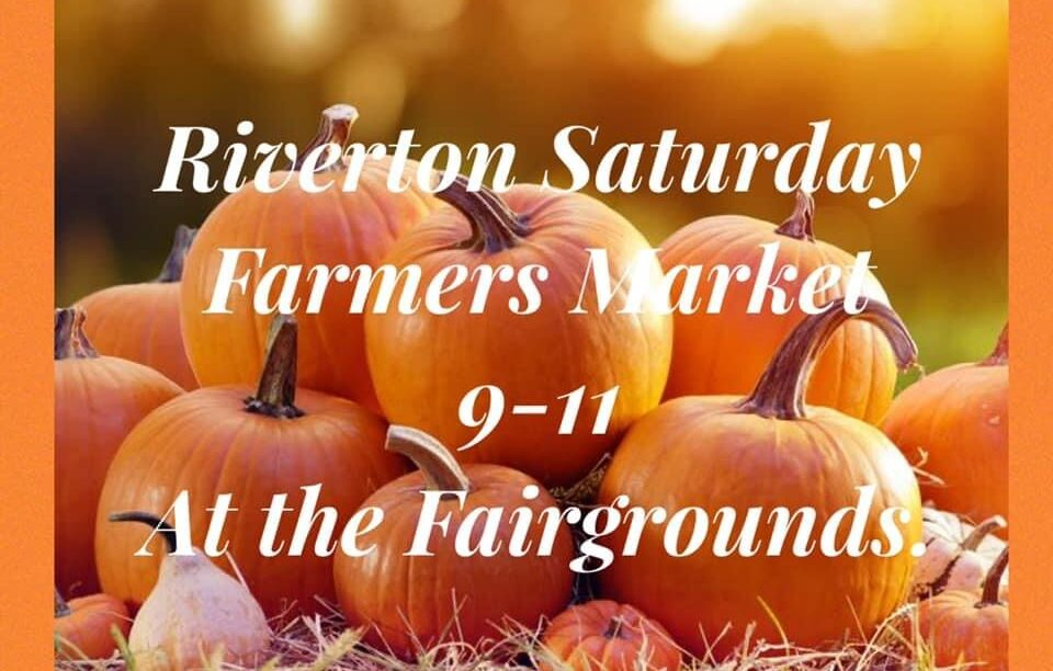 Check out the Saturday Farmers Market down at the Fairgrounds tomorrow!