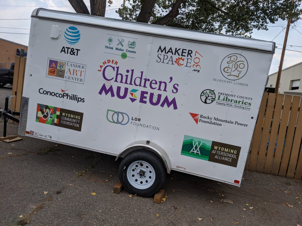 Lander Children's Museum to debut new mobile makerspace trailer on Saturday